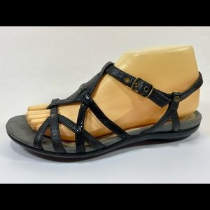 Privo Clarks Leather Slingback Sandals Women's 8M